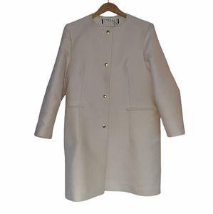 Marni Cream Wool/Silk Coat